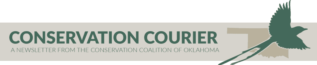 Subscribe to the Conservation Courier with the Conservation Coalition of Oklahoma