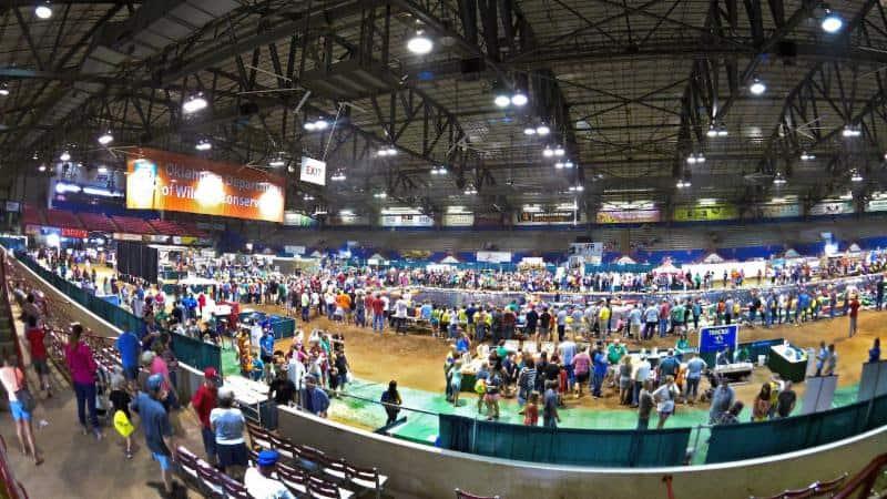 Oklahoma wildlife expo sept 26 27 at the lazy e arena for Plenty of fish okc