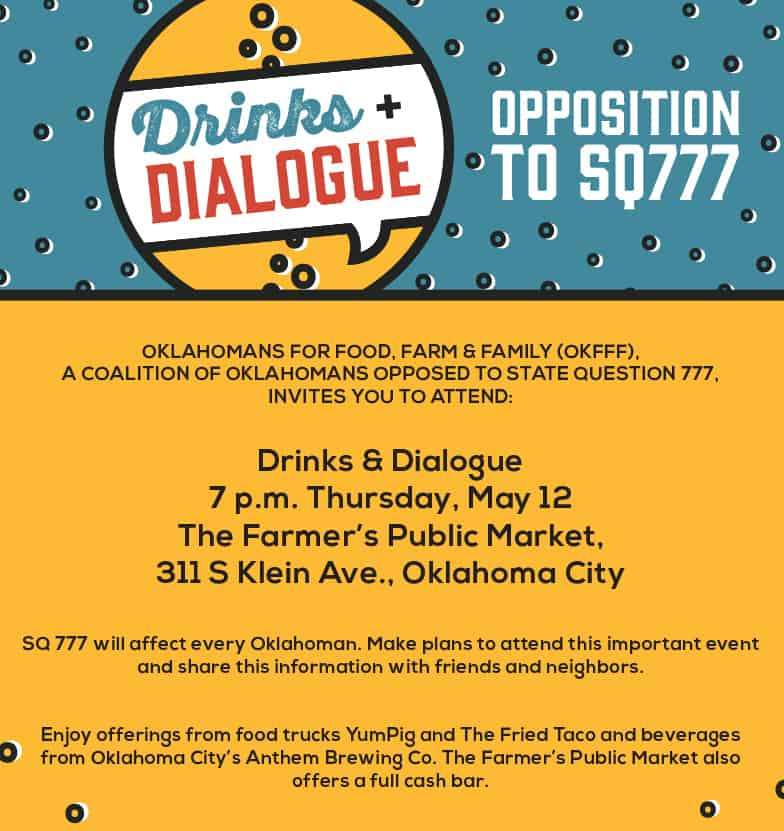 Drinks and Dialogue Event OKC SQ777