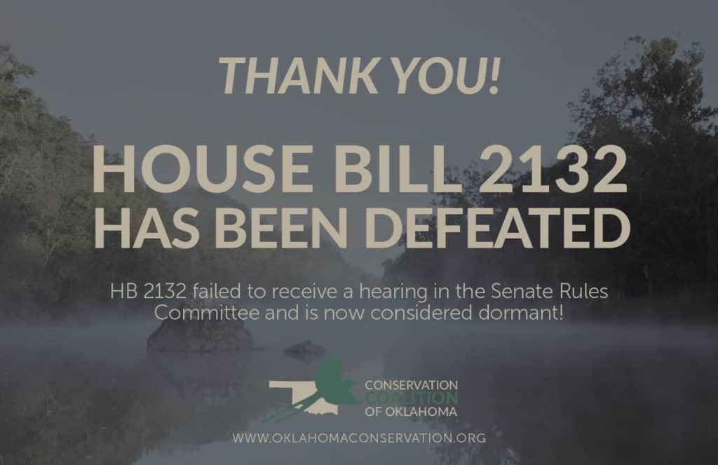 House Bill 2132 Oklahoma